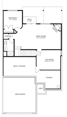 Baton homes residential townhome builder serving the for Rambler floor plans mn